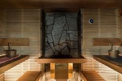Voikkaan Klubi, sauna