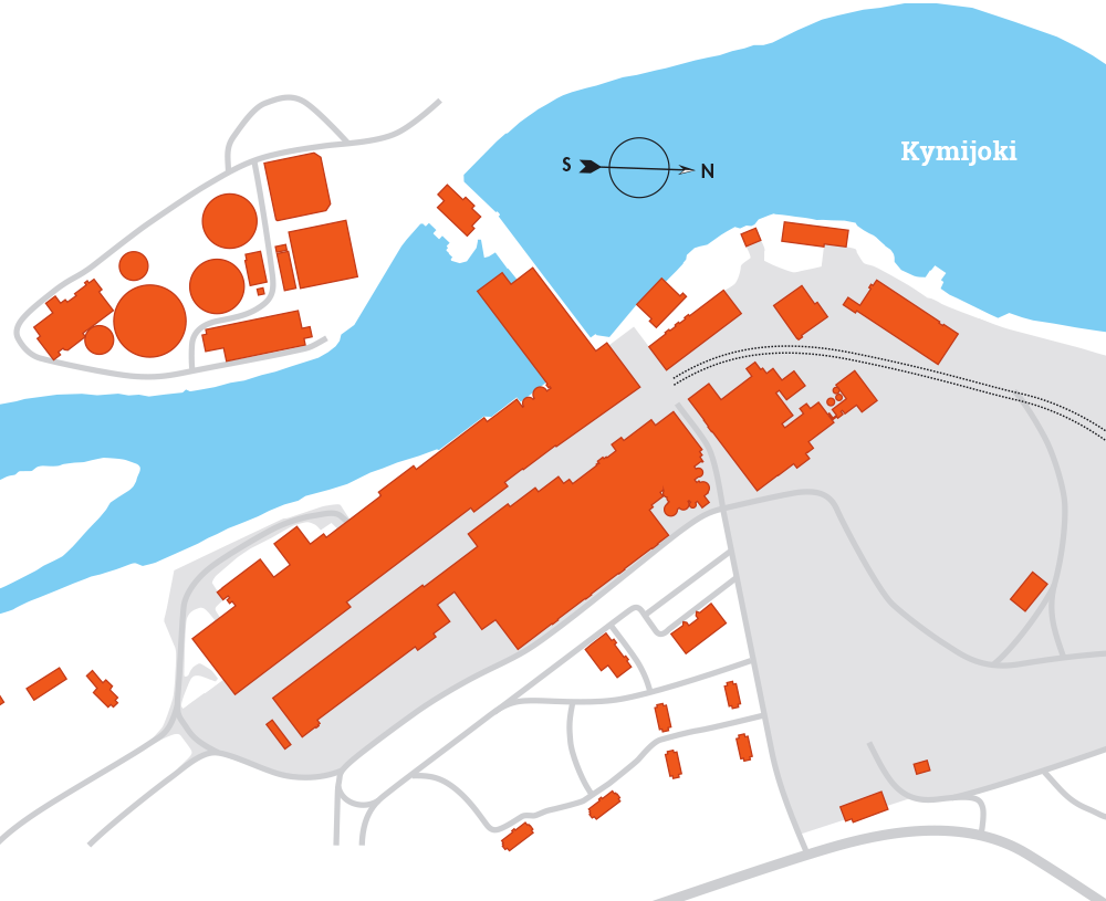 Myllykoski yritysalue kartta, Redeve Oy